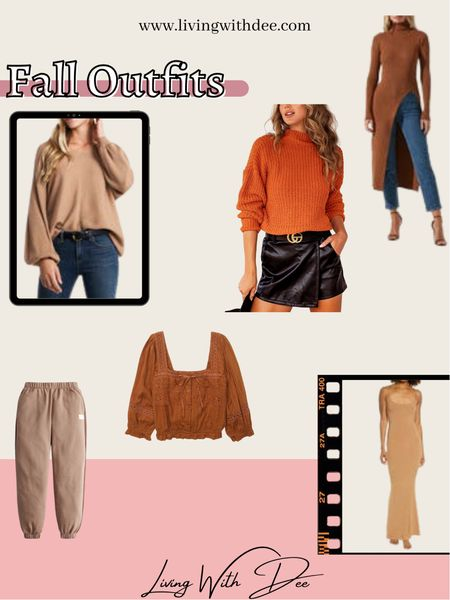Fall Outfits Sweaters Outfit Ideas  #LTKstyletip #LTKunder50 #LTKunder100