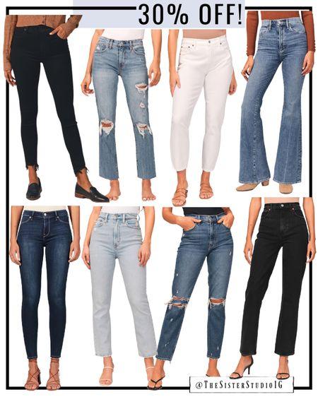 30% off all Abercrombie jeans!    #LTKsalealert