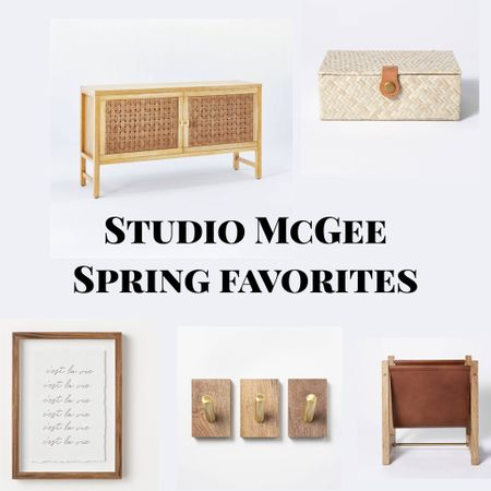 Sharing some of my favorite picks from the new #springcollection from #StudioMcGee at #Target! Which ones are your favorite?   #homedecor #springhome #springhomedecor #interiordesign #decor #entrytable #brasshooks #framedart #art #targetfinds #studiomcgeefinds  #LTKhome #LTKSeasonal #StayHomeWithLTK