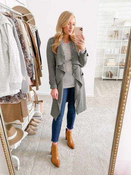 Run!! The olive waterfall jacket restocked in all sizes 🙌🏻 wearing a small but could have sized down to an XS #nordstromsale #nsale #nordstromanniversarysale   #LTKsalealert