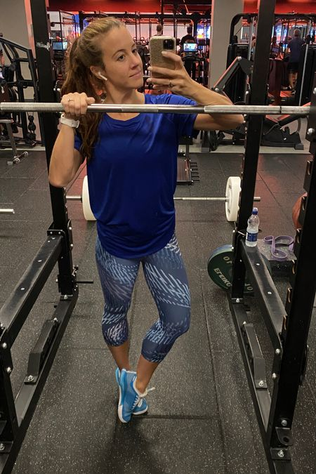 All blue workout look!   #LTKfit