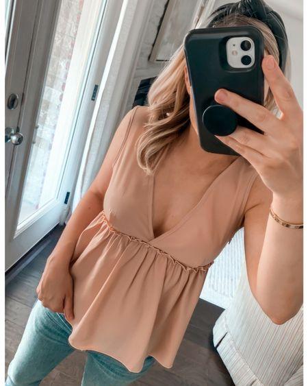 Amazon fashion, Amazon finds, top, Amazon top, summer top #LTKunder50 #LTKstyletip    http://liketk.it/3i12n #liketkit @liketoknow.it