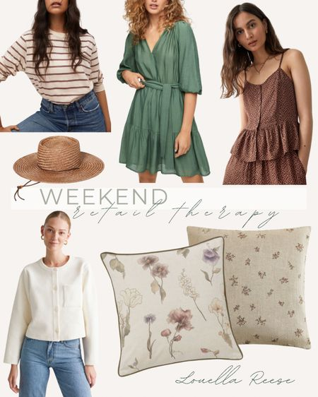 did a little retail therapy this weekend - here's everything I bought! the dainty floral pillow is from Zara, everything else linked here! including the cutest unicorn bust for my nieces birthday and natural citronella candles for our deck   #LTKunder50 #LTKhome #LTKunder100