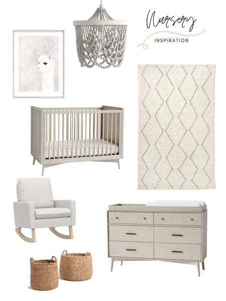 Nursery decor inspiration! I love designing nurseries, one of my favorite spaces. This gray neutral design is a total statement. Shop this nursery design and nursery furniture: http://liketk.it/3hZIl #liketkit @liketoknow.it @liketoknow.it.home @liketoknow.it.family #LTKstyletip #LTKbaby #LTKhome