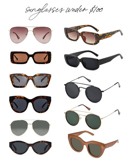 Sunglasses under $100!   #LTKstyletip #LTKunder100