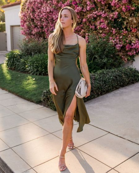 Fall Wedding Guest, Fall Wedding Guest Dress  Wearing size small in this under $100 dress. Perfect for a fall wedding, and just add a shawl if it's outdoors!   #fallwedding #falldress #fallweddingguest #fallweddingguestdresses #sleevelessweddingguestdress #fallweddingguestcocktail