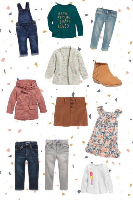 Old Navy School haul for little girls and some jeans for tall skinny boys!   See something you like? http://liketk.it/2Wb16 #liketkit @liketoknow.it #LTKfamily #LTKkids @liketoknow.it.family
