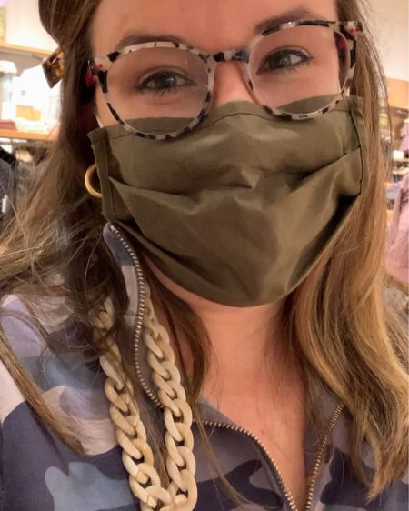 The cutest & easiest DIY mask chain! I love these customizable chains because they're super lightweight and add a fun accessory to any outfit. http://liketk.it/37DB7 @liketoknow.it #liketkit #LTKunder50 #LTKstyletip