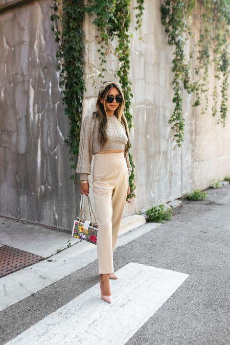 Fall fashion, fall outfit, revolve sweater, pants, fall style  #LTKstyletip #LTKSeasonal