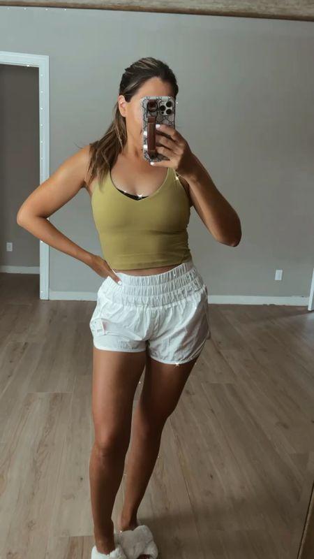 Perfect summer shorts! Wearing size medium   #LTKfit #LTKSeasonal #LTKunder50
