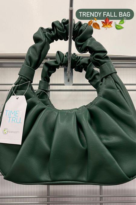 Scrunchie bag $15 Trendy fall shoulder bag   #LTKSeasonal #LTKstyletip #LTKunder50