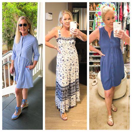 Memorial Day Weekend outfit ideas.  Summer dresses  Wearing size XS in all.   http://liketk.it/3g5yH #liketkit @liketoknow.it