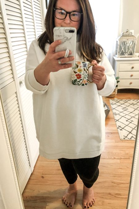 2 closet staples - my holy grail leggings and this classic tunic length turtleneck sweater    http://liketk.it/39xFf #liketkit @liketoknow.it   #LTKcurves #LTKunder100 #LTKunder50