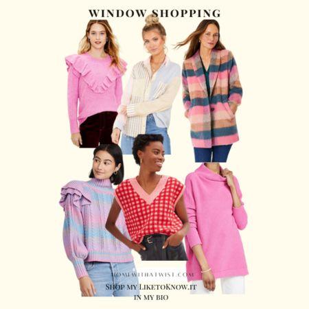 Pink tones for breast cancer awareness month. Go pink!  #LTKunder100 #LTKworkwear #LTKSeasonal