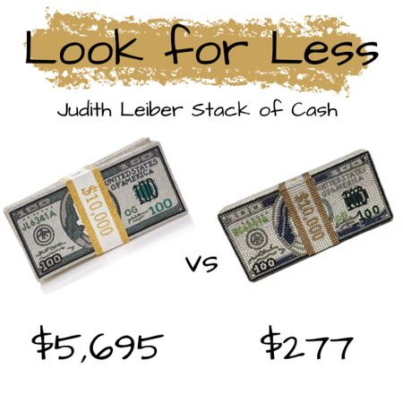 The Look for Less: Judith Leiber Stack of Cash http://liketk.it/2LSSE #liketkit @liketoknow.it