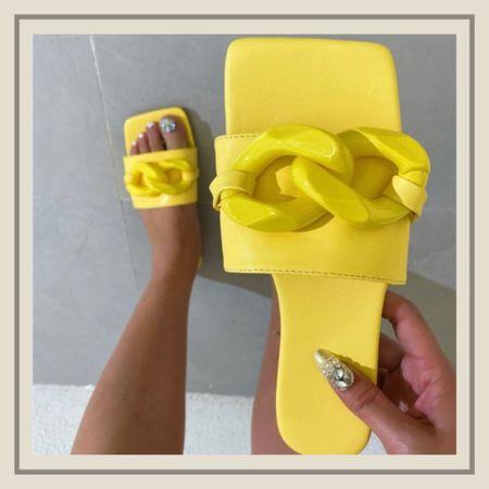 Minimalist chain decor summer sandals   http://liketk.it/3idBn #liketkit @liketoknow.it #LTKshoecrush #LTKunder50 #LTKstyletip You can instantly shop my looks by following me on the LIKEtoKNOW.it shopping app