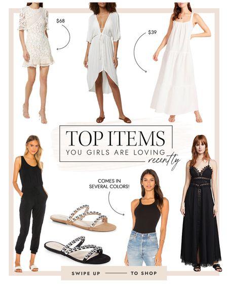 Comfy dresses, sandals and jumpsuits made the top seller this week! @liketoknow.it #liketkit http://liketk.it/3gT4i #LTKunder100 #LTKsalealert #LTKstyletip