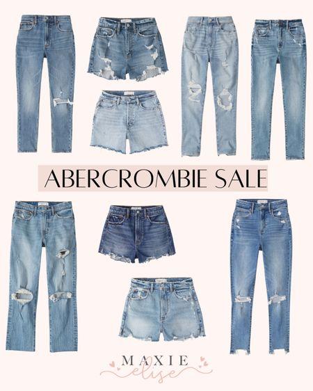 Abercrombie Denim On Sale 🎉  #abercrombie #abercrombiedenim #abercrombieshorts #abercrombiejeans #abercrombie&fitch #summerfashion #summershorts #salealert  #LTKunder100 #LTKstyletip #LTKsalealert
