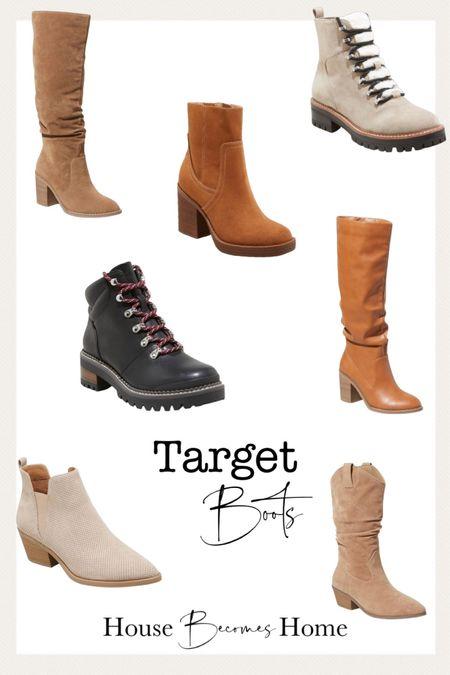 Target boots   #LTKshoecrush #LTKSeasonal #LTKstyletip
