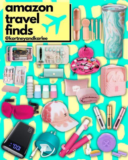 Amazon Travel Finds!  Amazon travel favorites | travel favorites | travel essentials | travel finds | travel must haves | amazon travel finds | amazon travel essentials | amazon travel must haves | travel junkie | trovel lover | beauty favorites | amazon beauty | amazon beauty favorites | amazon beauty must haves | amazon beauty finds | amazon beauty essentials | Kortney and Karlee | #kortneyandkarlee #LTKunder50 #LTKunder100 #LTKsalealert #LTKstyletip #LTKSeasonal #LTKtravel #LTKbeauty #LTKhome @liketoknow.it #liketkit http://liketk.it/3hM8t