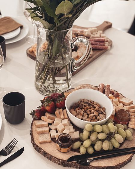 I love making Charcuterie boards when hosting friends! Check out these Target finds. Shop your screenshot of this pic with the LIKEtoKNOW.it shopping app http://liketk.it/3ctOG #liketkit @liketoknow.it #LTKhome #LTKunder100 #LTKfamily