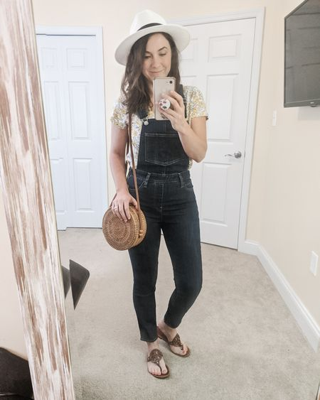 Loving these slim overalls from Levi's! Some of my spring favorites including this straw fedora, rattan circle purse and of course my Tory Burch sandals.    http://liketk.it/2KhDS @liketoknow.it #liketkit #LTKsalealert #LTKstyletip #LTKunder100 Screenshot or 'like' this pic to shop the product details from the LIKEtoKNOW.it app, available now from the App Store! Follow FigAndRoses 💋 or click in my links in the bio!