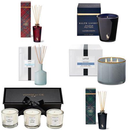 Gift guides for home fragrance.   #LTKGiftGuide #LTKhome #LTKHoliday