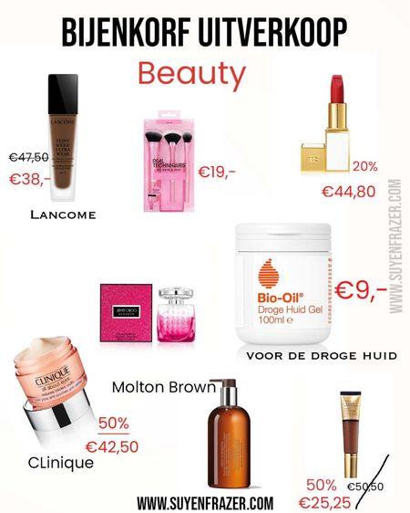 Bijenkorf Sale  Best of Beauty shop list   #LTKsalealert #LTKbeauty #LTKeurope