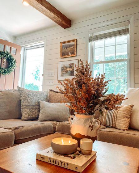 Fall living room inspo   #LTKstyletip #LTKhome #LTKSeasonal