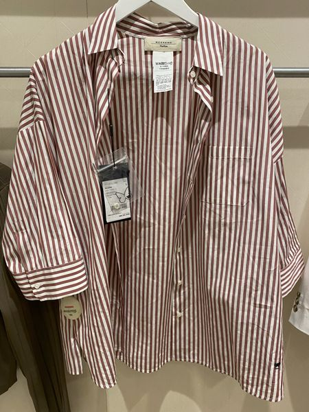 My client will be tucking this fabulous Weekend Max Mara shirt into high-waist pants for work.   #LTKworkwear