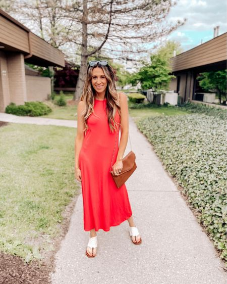 Think I may have found a color outside of my normal neutral palette that I'm in love with. 😍  Had such a great time at @loveloft_detroit this weekend trying on all the new arrivals including this bold red dress. I can see this being a go-to for myself this summer.   How was your weekend?!    @liketoknow.it #liketkit http://liketk.it/3fsfr #LTKunder100 #LTKstyletip #LTKshoecrush