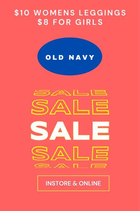 Old Navy Sale  #LTKsalealert #LTKfit #LTKkids