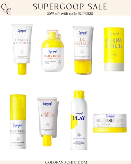 My favorite clean sunscreen is on sale for 20% off site wide now until September 21st. I love these products because they are good for all skin types, no harsh chemicals are added and they have a natural finish. Use code SUPER20 for 20% off your order!  #LTKsalealert #LTKunder50 #LTKbeauty