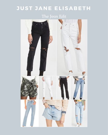 The Jean Edit: check out these cute jeans ranging from $150-$200! http://liketk.it/3ahNg #liketkit @liketoknow.it