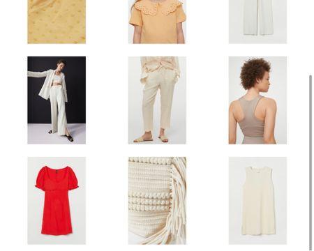 Easy Breezy Summer Look Lite weight pants dresses and cute bag!  #LTKSeasonal #LTKunder50 #LTKitbag