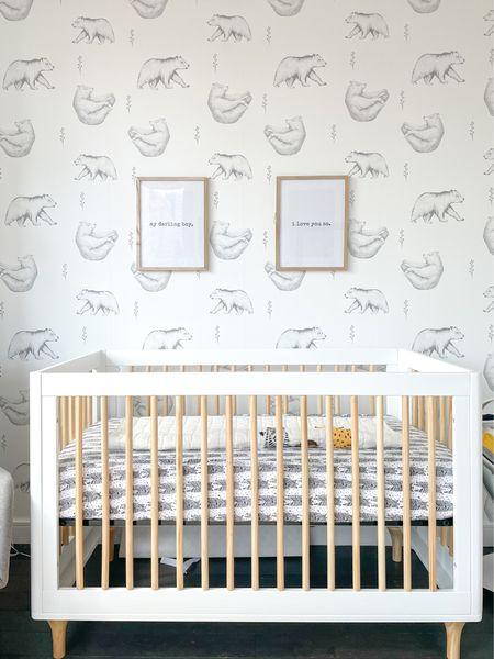 Nursery, gender neutral nursery, baby, decor, nursery inspo, nursery inspiration   #LTKhome #LTKbaby #LTKbump