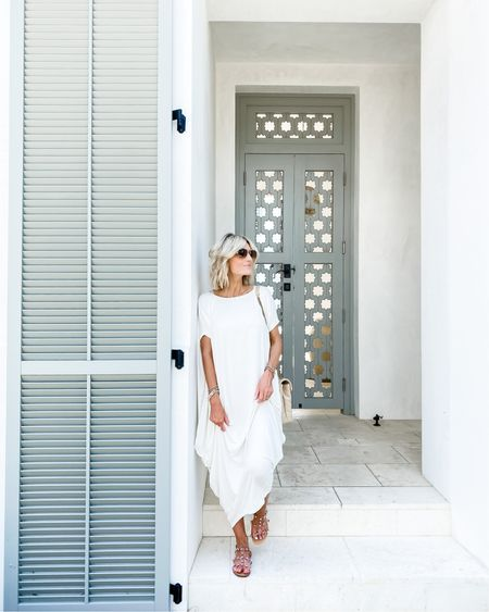 White amazon maxi dress http://liketk.it/2SrjX #liketkit @liketoknow.it #amazonfinds