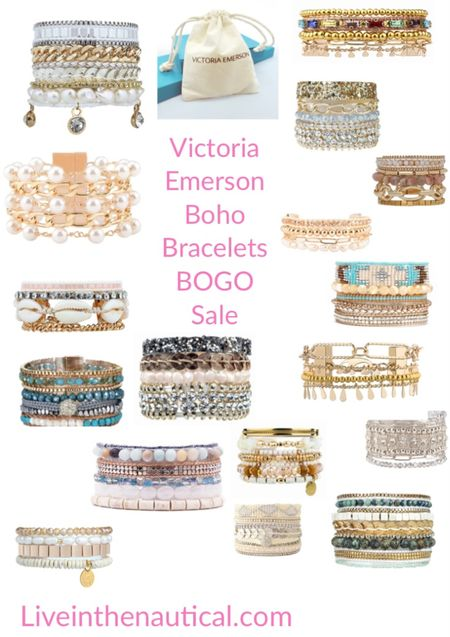 BOGO!!! Buy One Get One! Victoria Emerson has the chicest bracelets they are perfect to wear all occasions and also make the best gifts!   #LTKstyletip #LTKsalealert #LTKunder50