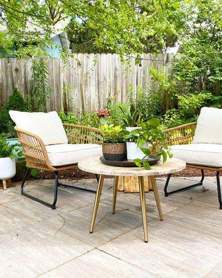 Comfy and cute outdoor seating area @liketoknow.it #liketkit http://liketk.it/3iyka @liketoknow.it.home #LTKhome #LTKsalealert #LTKstyletip