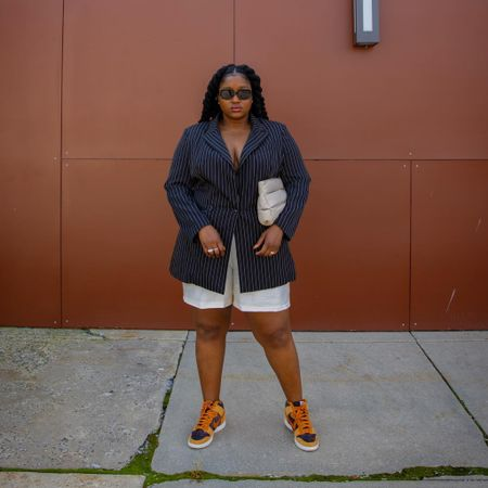 Just waiting on anyone to invite me to a business meeting! I am ready   Follow me on Instagram @wonder.fro for more looks and pictures   #LTKcurves #LTKshoecrush #LTKstyletip