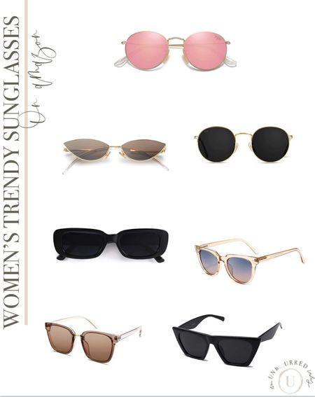 Trendy sunglasses on Amazon for women!   #LTKunder50 #LTKSeasonal #LTKstyletip