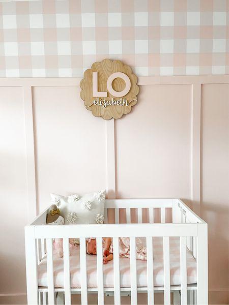 Lo's pink nursery!   #LTKbaby #LTKbump #LTKhome