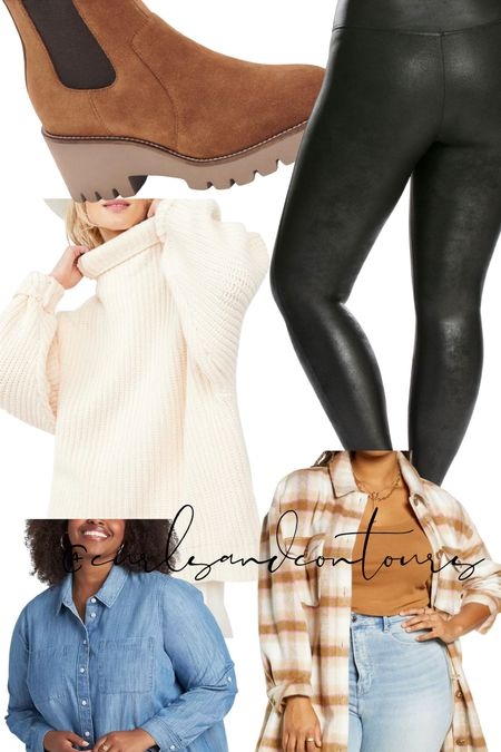 Shop Plus Size Spanx faux leather leggings!  #LTKunder100 #LTKSeasonal #LTKcurves