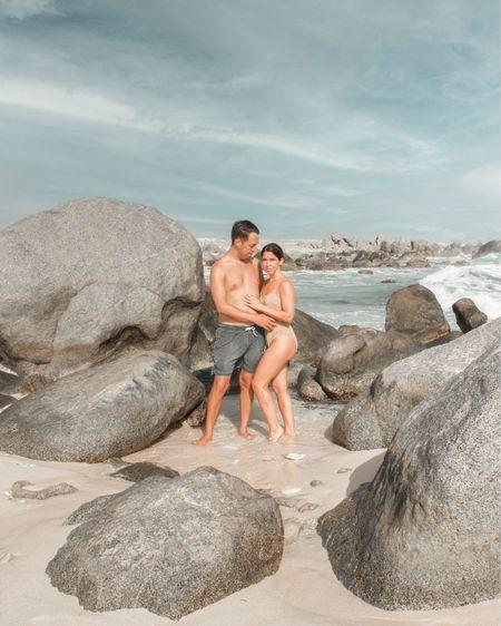 His and hers swim!  #goldonepiece #mensswim #bodyglove #ltkseasonal #Competition   #LTKSeasonal #LTKtravel #LTKswim