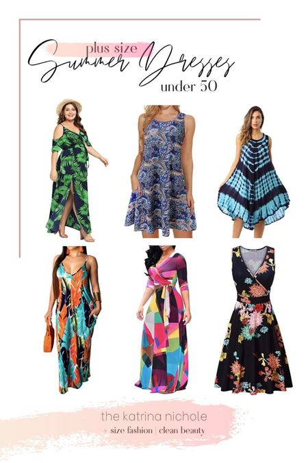 Check out these beautiful flowery summer dresses!  #LTKSeasonal #LTKstyletip #LTKcurves