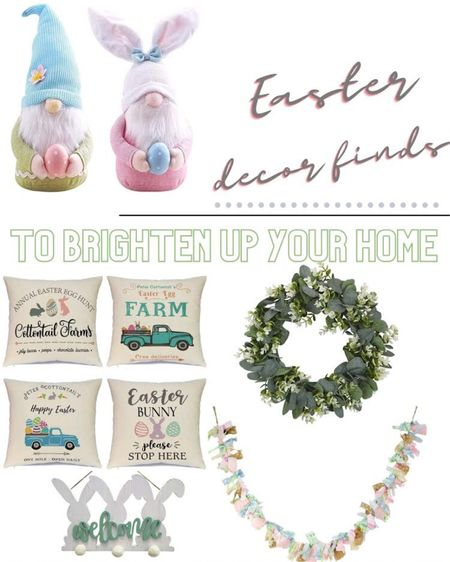 Here are some of my favorite Easter decor finds to brighten up your home! Click here to shop my Easter decor! http://liketk.it/38VUy #liketkit @liketoknow.it #LTKhome #LTKstyletip #StayHomeWithLTK @liketoknow.it.home Follow me on the LIKEtoKNOW.it shopping app to get the product details for this look and others