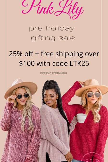 Pink Lily sweaters, fall outfit ideas, plus I sweaters, plus size outfits, midsize, fall cozy, long sweaters for leggings, gift ideas  #LTKHoliday #LTKsalealert #LTKunder50