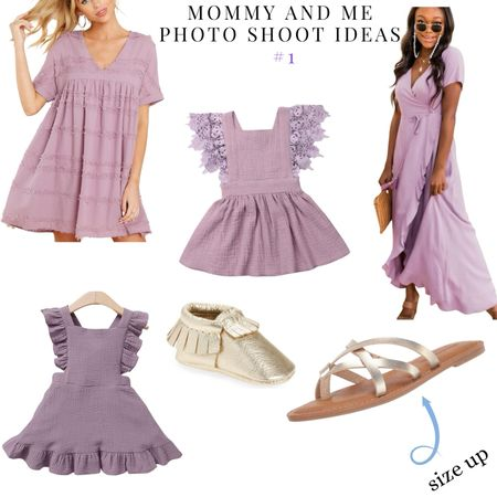 """Sharing multiple """"Mommy and me"""" DIY photo shoot outfits   #LTKfamily #LTKbaby #LTKSeasonal"""