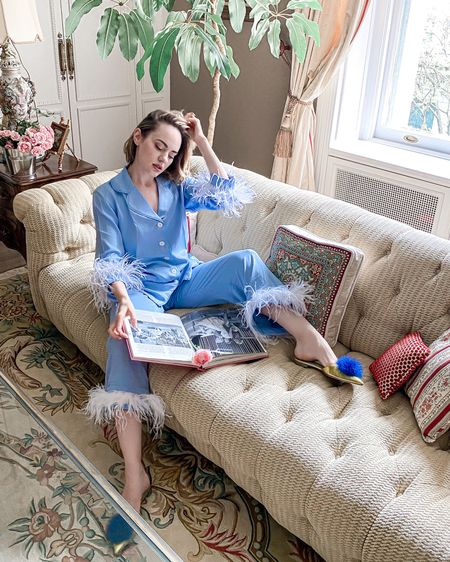 STAY HOME VIBES 🦋 Updated my PJs to this fun furry set by @daily_sleeper because every day is to be celebrated! http://liketk.it/3eD1R  #pjsallday #stylesprinter #dailysleeper #пижамнаявечеринка #liketkit @liketoknow.it