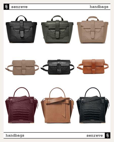 Love SENREVE handbags for fall. They come in so many textures/colors/styles #fallhandbag #senreve @senreve  #LTKstyletip #LTKitbag